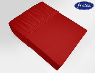 Prześcieradło jersey z gumką Frotex czerwone 030 - czerwony