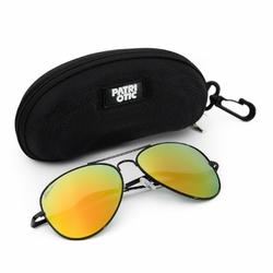 Okulary przeciwsłoneczne Patriotic DR_3402C1 Etui