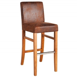 Hoker drewniany Valti brązowy vintage