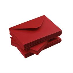 Koperta C6 100 g - CZERWONY - czerwony