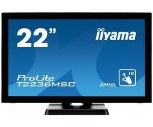 IIYAMA Monitor 21.5 T2236MSC-B2 10P DOTYKOWY HDMI  DVI  GŁOŚNIKI PCAP