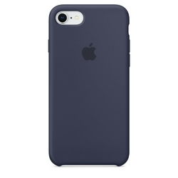 Apple iPhone 8  7 Silicone Case - Midnight Blue