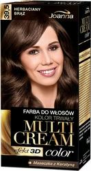 Joanna Multi Cream Color, farba do włosów, 39.5 herbaciany brąz