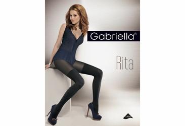 Rita GABRIELLA prążki rajstopy