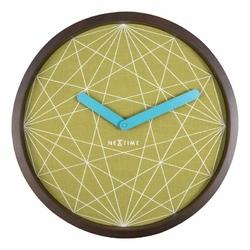 Zegar ścienny Calmer geometryczny