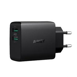 AUKEY PA-U42 Ultraszybka ładowarka sieciowa 2xUSB AiPower 4.8A 24W