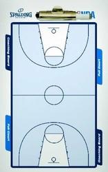 Tablica trenerska taktyczna do koszykówki basketball Spalding Coaching Board - 300157403