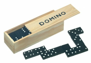 Gra edukacyjna domino 28 kostek