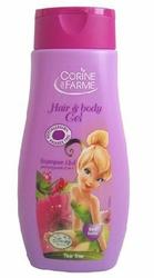 Corine de Farme Disney Fairies, Czerwone Owoce 2w1, szampon i żel pod prysznic dla dzieci, 250ml