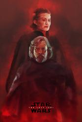 Gwiezdne Wojny – Ostatni Jedi – bohaterowie - plakat premium Wymiar do wyboru: 20x30 cm