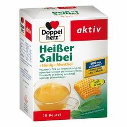 Doppelherz Heisser szałwia, miód + mentol na gorąco