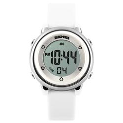 Zegarek dziecięcy DATOWNIK LED SKMEI 1100 - WHITE - WHITE