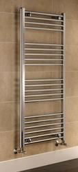 Grzejnik łazienkowy york - wykończenie proste, 500x1200, chromowany