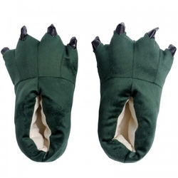 Kapcie kigurumi onesie kigu zielone