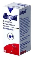 Allergodil krople 0,5g1ml 6ml