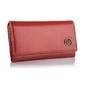 Elegancki damski portfel betlewski bpd-bf-10 czerwony