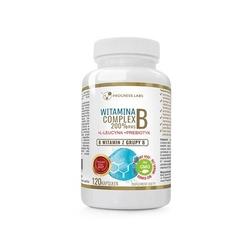 Progress labs vitamin b complex 200 rws 120caps dobra oferta