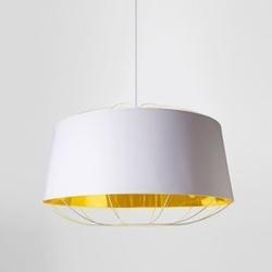 Petite friture :: lampa wisząca lanterna l białazłota