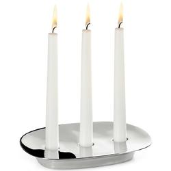Świecznik stalowy na trzy świece voila philippi p202012