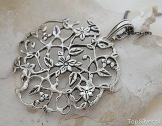 Sorea - srebrny wisiorek ze srebra