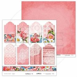Papier do scrapbookingu Coral Romance 30,5x30,5 cm - 06 - 06