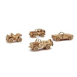 Mechaniczne puzzle 3d – kolekcjonerski zestaw samochodów