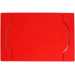 Taca bambusowa z silikonem freeform czerwona ff-ppbs1700red