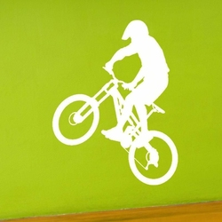 rower 6 naklejka