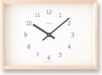Zegar stołowy kaede biały