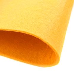 Dekoracyjny filc gładki 30x45 cm - żółty - ŻÓŁ