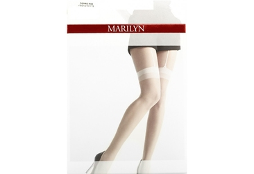 Desire m06 marilyn rajstopy imitujące białe pończochy