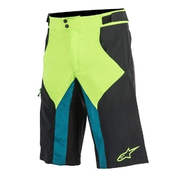 Szorty alpinestars outrider wr black-green 1725614-1062