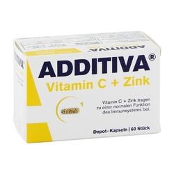Additiva witamina c + cynk kapsułki 300 mg
