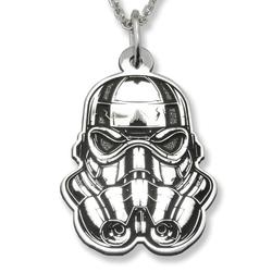 Wisiorek srebrny kosmiczny żołnierz-1