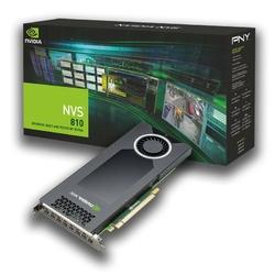 PNY NVIDIA Quadro NVS 810 DVI VCNVS810DVI-PB