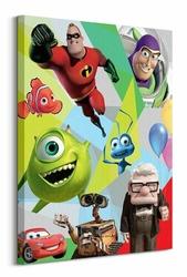 Pixar Postacie - Obraz na płótnie