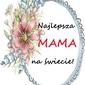 Najlepsza mama - plakat wymiar do wyboru: 30x40 cm