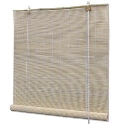 Vidaxl rolety bambusowe, 80 x 160 cm, naturalne
