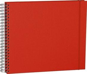 Album na zdjęcia Uni Maxi Mucho czarne karty czerwony