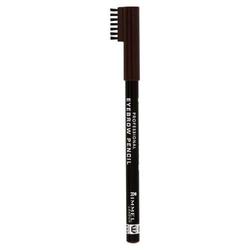 Rimmel london eyebrow pencil kosmetyki damskie - 1,4g 001 dark brown