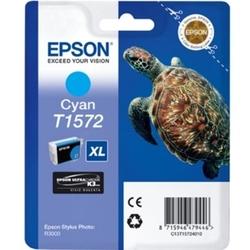 Tusz oryginalny epson t1572 c13t15724010 błękitny - darmowa dostawa w 24h
