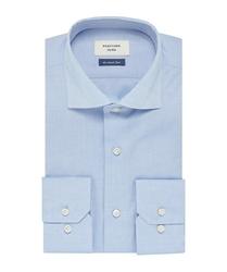 Elegancka błękitna koszula męska profuomo sky blue - smart shirt 44