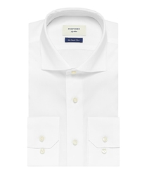 Elegancka biała koszula męska profuomo sky blue - smart shirt 41