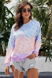 Cieniowana bluza damska, tie dye 310