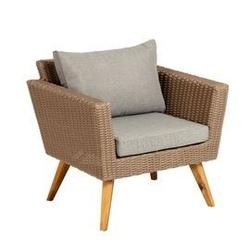 Fotel ogrodowy sunny brązowy