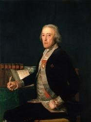 Reprodukcja portrait of felix colon de larriategu, francisco goya