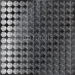 Board z aluminiowym obramowaniem ciemne metalowe tło z wzorem koła