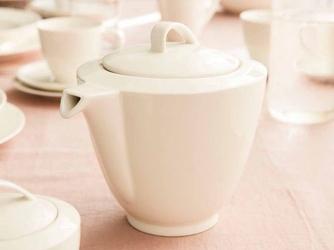 Imbryk  czajnik do herbaty i kawy porcelana mariapaula nova ecru 1,3 l