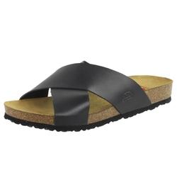 Czarne klapki damskie nik 07-0374 cozabuty