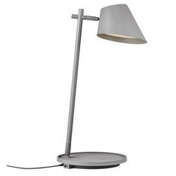 Design for the people :: lampa biurkowa stay szara wys. 47 cm